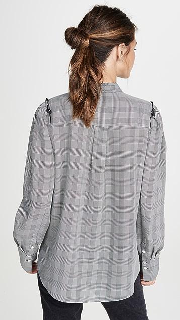 Jason Wu 雪纺格子女式衬衫