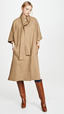 Cotton Poncho Rain Coat