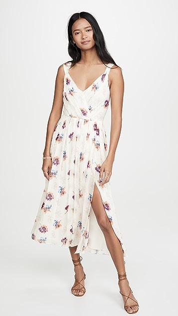Jason Wu Платье-комбинация с цветочным рисунком спереди и V-образным вырезом
