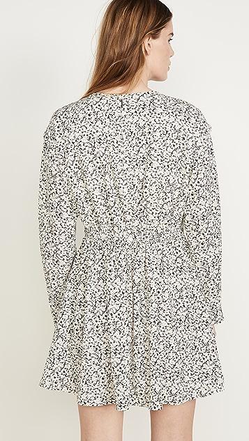 Jason Wu Inverse 花朵图案长袖连衣裙