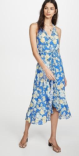 Jason Wu - Floral Sleeveless Wrap Dress