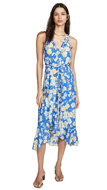 Jason Wu 花朵无袖裹身连衣裙