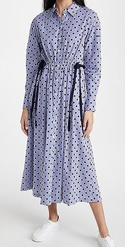 Jason Wu - 圆点花纹衬衣连衣裙