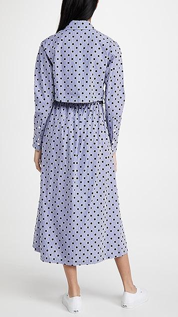 Jason Wu 圆点花纹衬衣连衣裙