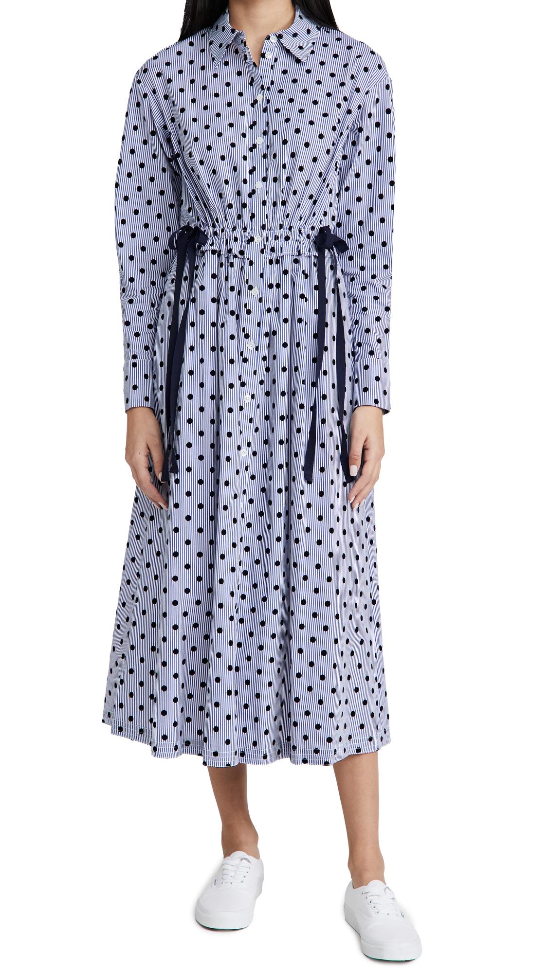 Jason Wu Polka Dot Shirt Dress