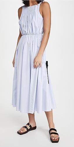 Jason Wu - Pleated Dress With Tie Detail