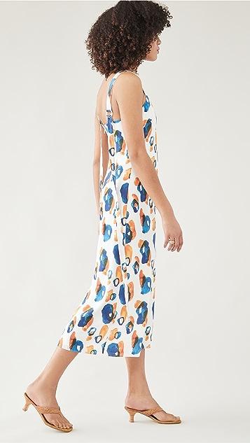 Jason Wu Sleeveless V Neck Dress