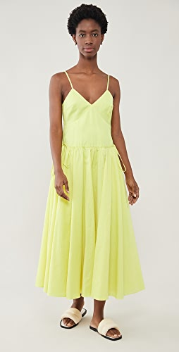 Jason Wu - Spaghetti Strap V Neck Maxi Dress