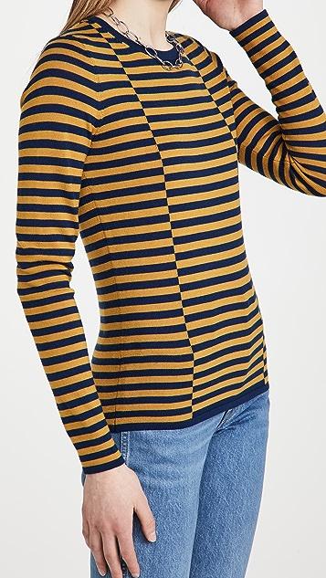 Jason Wu 条纹毛衣