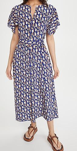 Jason Wu - Short Sleeve Leopard Print Dress