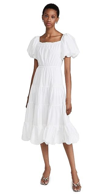 Jason Wu Puff Sleeve Tier Dress