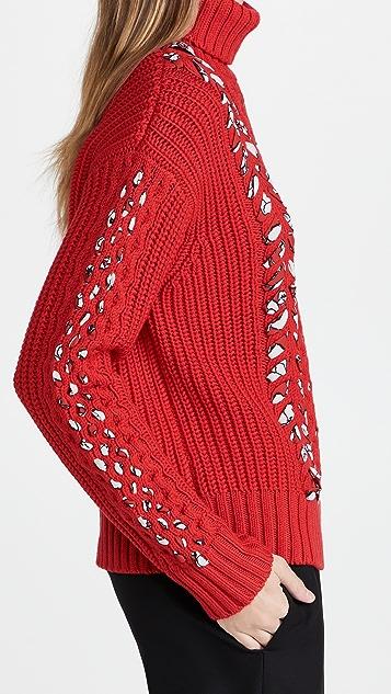 Jason Wu Merino Wool Turtleneck Sweater