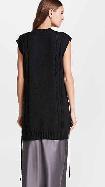 Jason Wu Wool V Neck Knit Vest