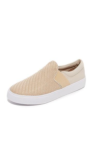 KAANAS Santa Fe Raffia Slip on Sneakers