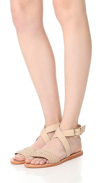 KAANAS Fortaleza Braided Sandals