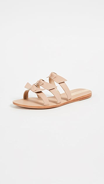 Recife Bow Sandals by Kaanas