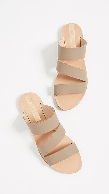KAANAS Manaus 3 Band Sandals
