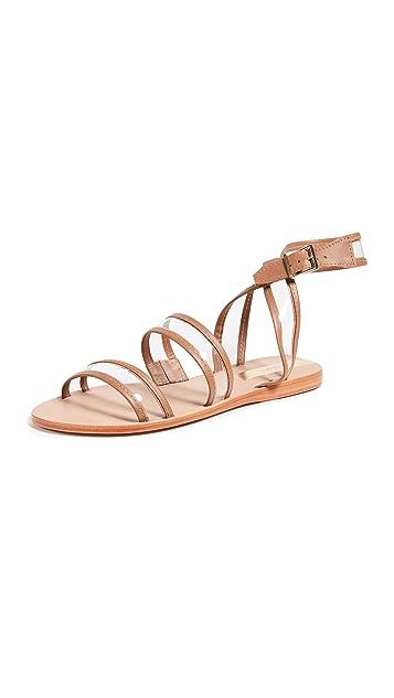 KAANAS Olinda See-Through Sandals
