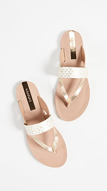 KAANAS Natal Slipon Sandals