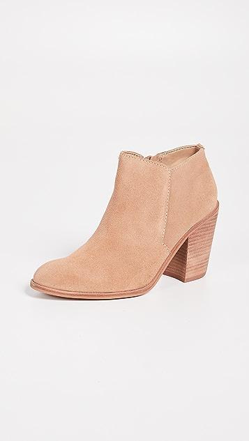 KAANAS Bologna Stacked Heel Booties
