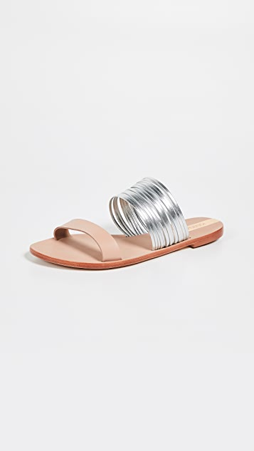 KAANAS Samos Multi Strap Sandals