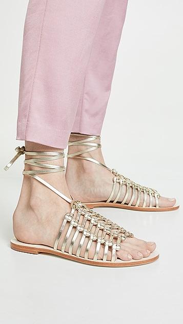 KAANAS Porto Alegre Multi Knot Sandals