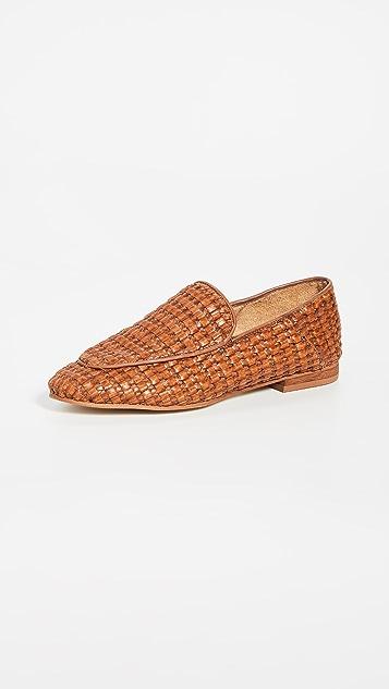 KAANAS Amalfi Basket Weave Loafers