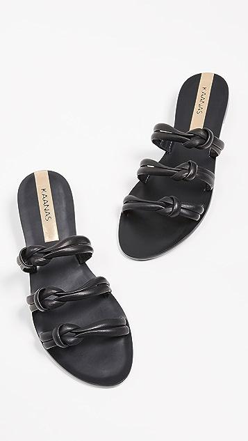 KAANAS Curitiba Slip On Sandals