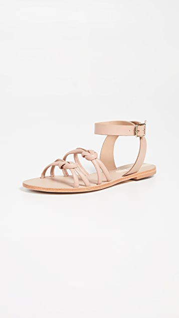 Guarulhos Knot Sandals by Kaanas