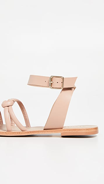 KAANAS Guarulhos Knot Sandals