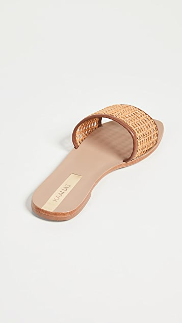 KAANAS Pipa Braided Net Slides