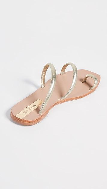 KAANAS Salvador Strappy Sandals