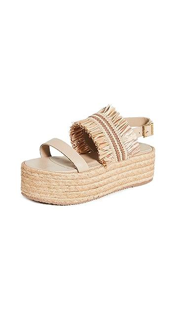 KAANAS Fiji Flatform Sandals