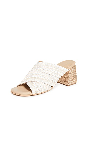 KAANAS Borneo 交叠凉鞋