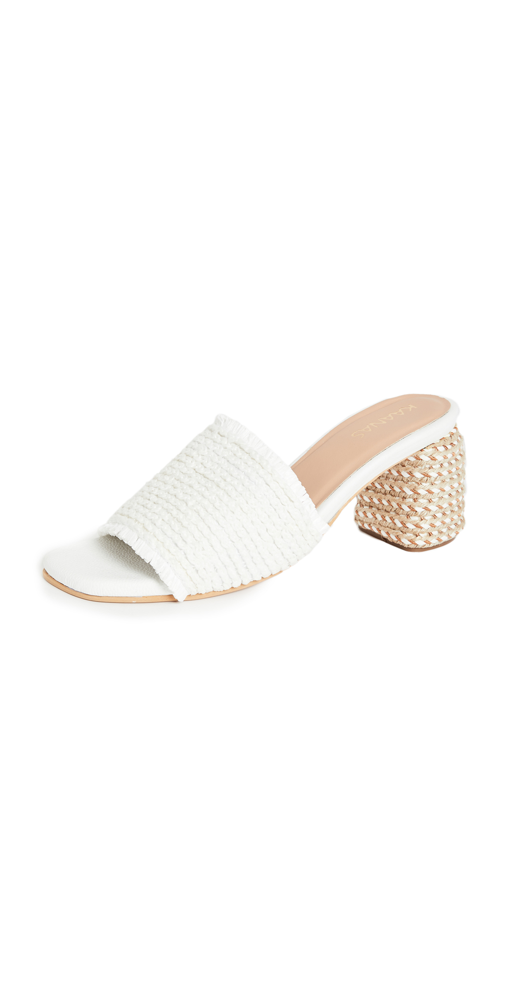 KAANAS Sumatra Frayed Sandals