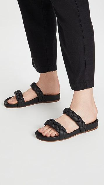KAANAS Coco Chunky Braided Sandals