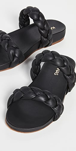 KAANAS - Coco Chunky Braided Sandals
