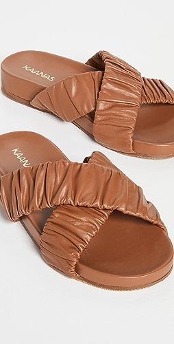 KAANAS - Saona Scrunchie Crossover Pool Slides