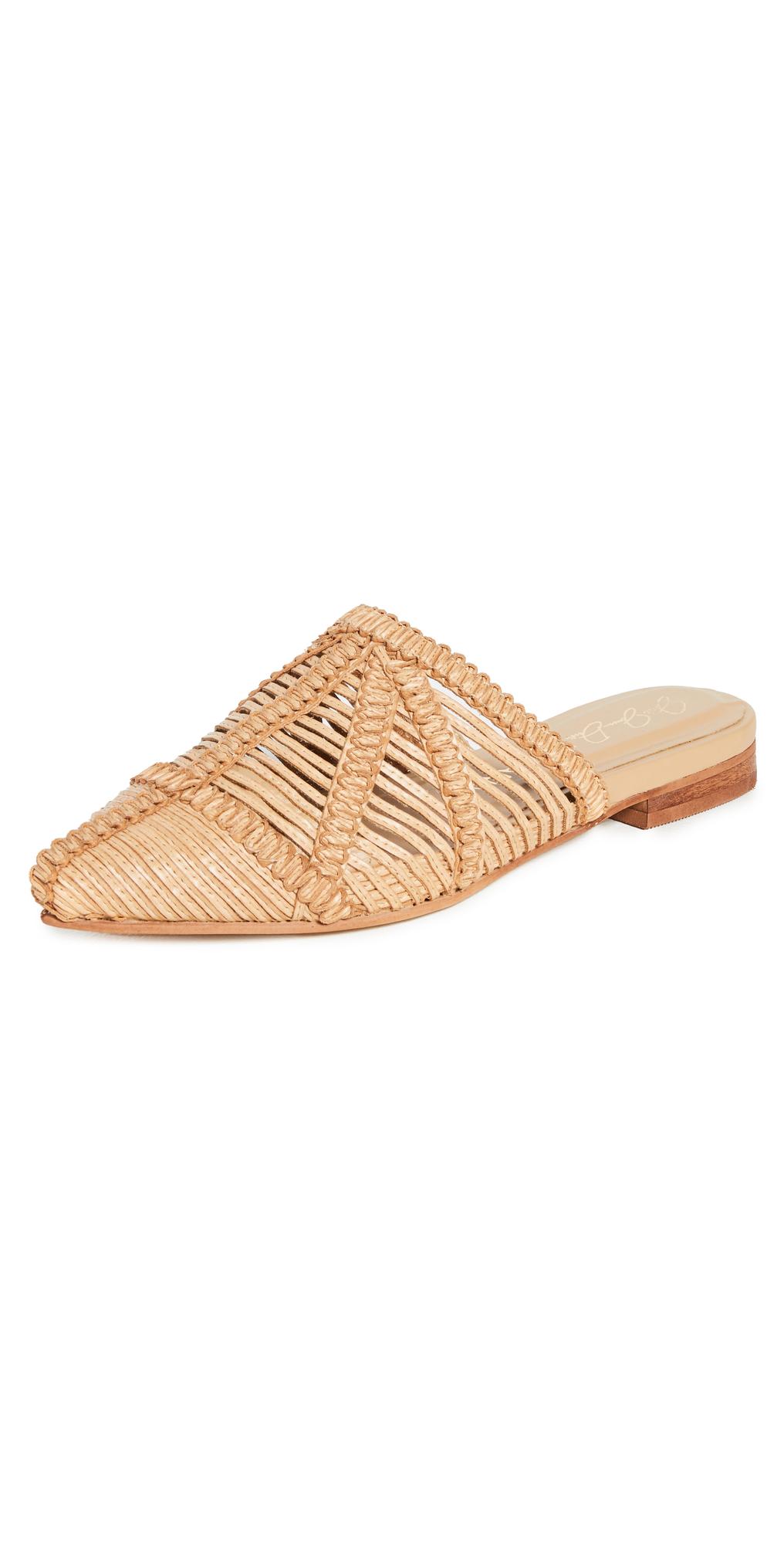 Madeira Basketweave Mules