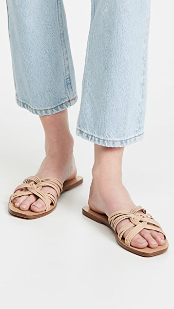 KAANAS Miciela Strappy Know Leather Sandals