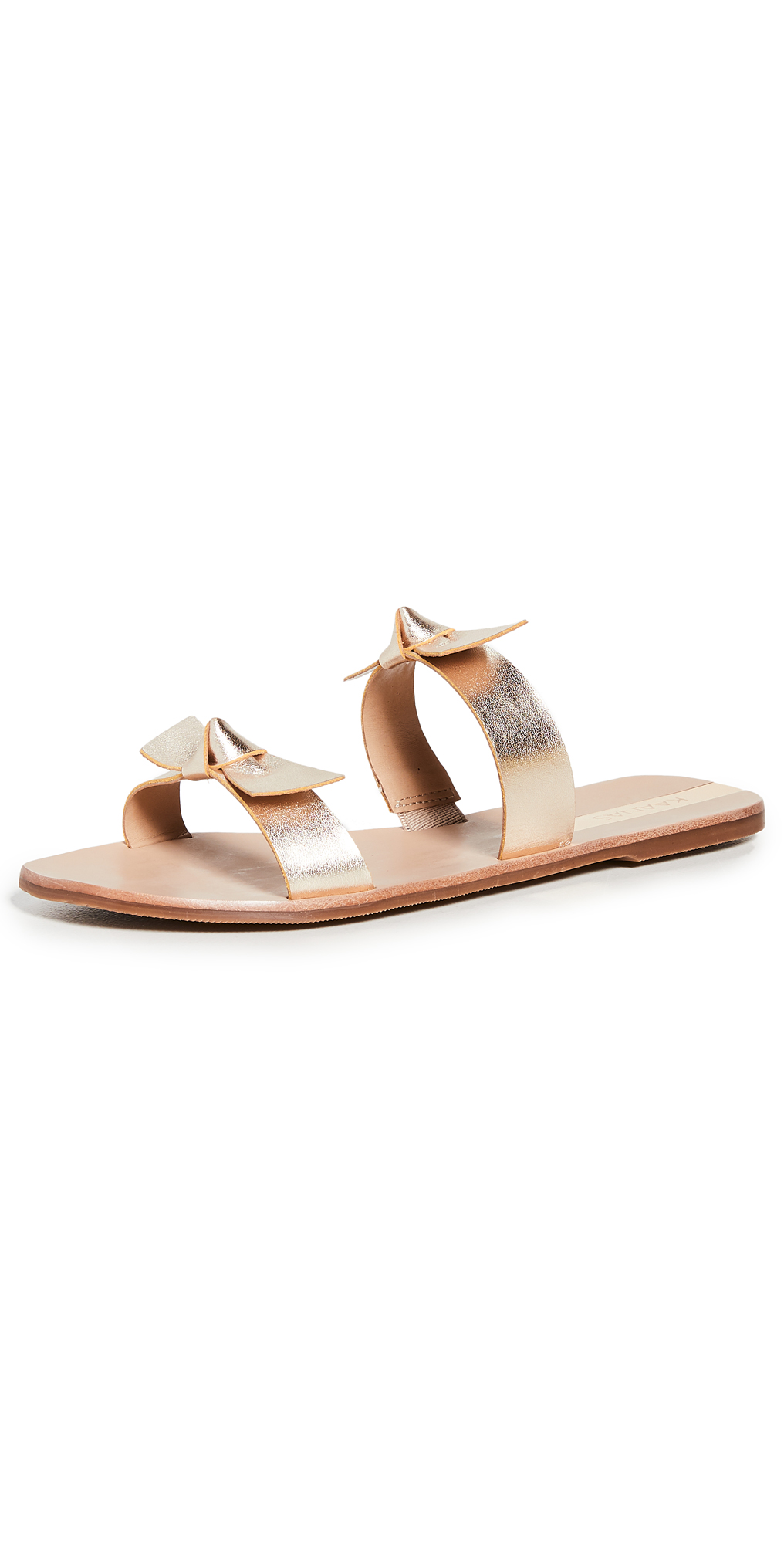 KAANAS Antonia Double Bow Sandals