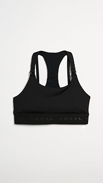 KORAL ACTIVEWEAR Downbeat Nursing Bra