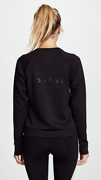 KORAL ACTIVEWEAR Crown Pullover Sweatshirt