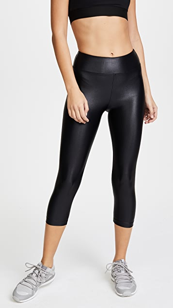 KORAL ACTIVEWEAR Lustrous High Rise Capri Leggings