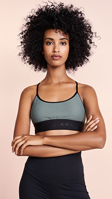KORAL ACTIVEWEAR Sweeper Netz Sports Bra