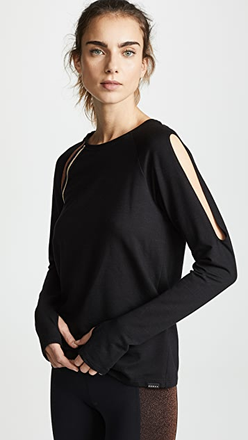 KORAL ACTIVEWEAR Wisdom Daze Long Sleeve Top