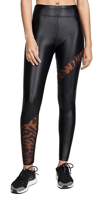 KORAL ACTIVEWEAR Cheetara Leggings - Brown Cheetah
