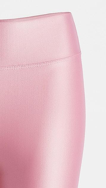 KORAL ACTIVEWEAR 闪光色高腰贴腿裤