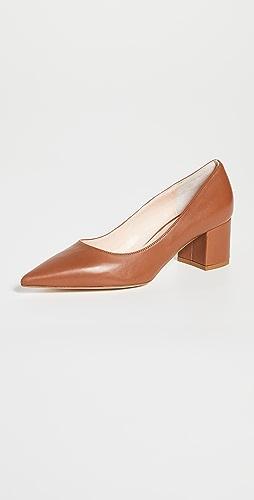 Kahmune - Becky 粗跟浅口鞋 50mm