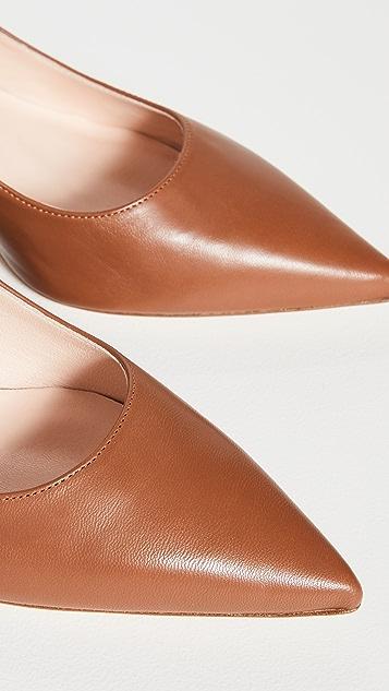 Kahmune Becky 粗跟浅口鞋 50mm
